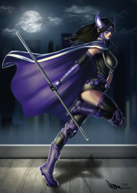 Huntress from Diego Rafael