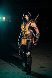Yeliz Cosplay as Scorpion