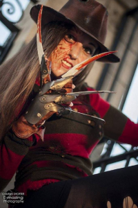 Amy Nicole as Freddy Krueger