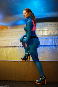 Bebop Cosplay as Samus Aran