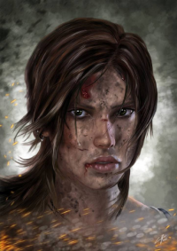 Lara Croft from 5IC