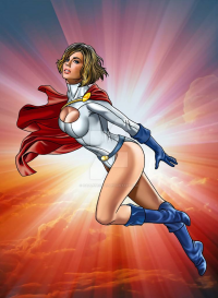 Power Girl from Hamlet Roman