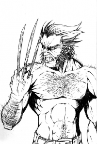Wolverine from Mark Lauthier