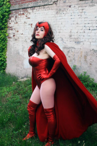 GalaktikMermaid as Scarlet Witch