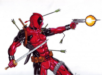 Deadpool from Adam Tupper