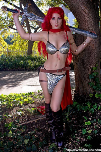 Ellie McNeil as Red Sonja