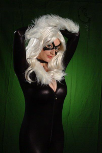 Abby Dark-Star as Black Cat