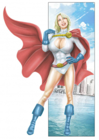 Power Girl from James Palmer