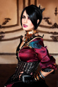 Hannuki as Morrigan