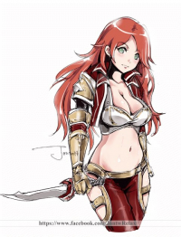 Katarina from Relax 絵