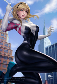 Spider Gwen from Mirco Cabbia