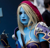 Keikei Flores as Sylvanas Windrunner