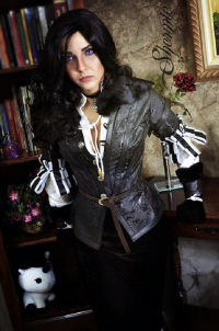 Shermie Cosplay as Yennefer