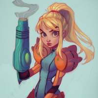 Samus Aran from Chrissie Zullo