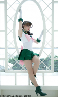 Artemis Moon as Sailor Jupiter