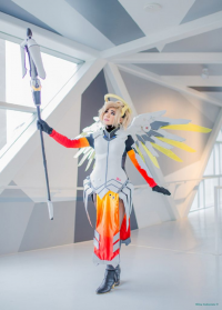 Bec's Cosplay Wonderland as Mercy