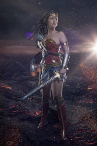 Arwenias Kreativeck as Wonder Woman