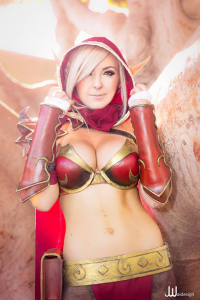 Jessica Nigri as Blood Elf