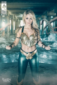 Laney Feni Cosplay as Aquaman