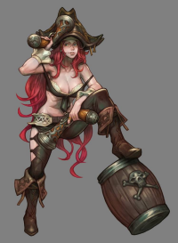 Miss Fortune from Bonekatana