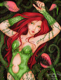 Poison Ivy from Sika-chan