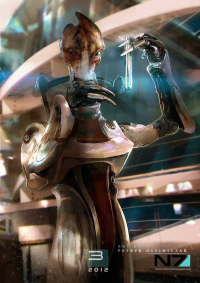 Mordin Solus from Unknown Artist