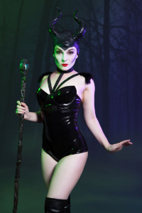 Candy Valentina as Maleficent