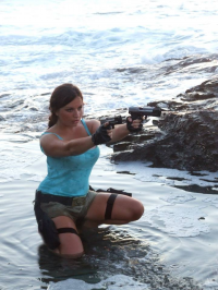 Choupett Cosplay as Lara Croft