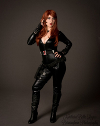 Northern Belle as Black Widow
