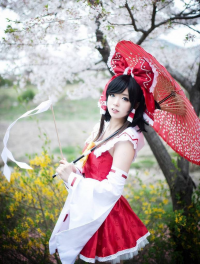 TUNA as Reimu Hakurei
