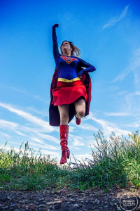 Analeigh Cosplay as Supergirl