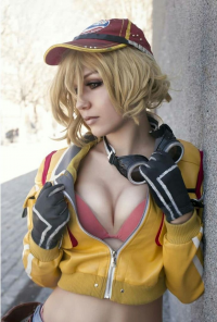 AiChan Cosplay as Cindy Aurum
