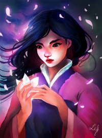 Mulan from Camille Fourcade