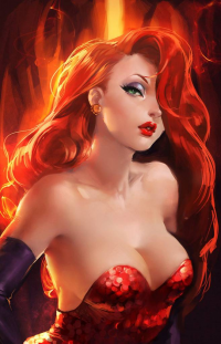 Jessica Rabbit from Sakimi Chan
