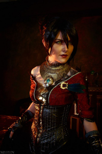 Ainaven as Morrigan