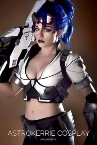 Astrokerrie Cosplay as Widowmaker