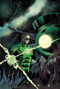 Green Lantern from Andrea Schiavone