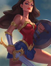 Wonder Woman from Anna Maystrenko