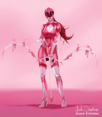 Pink Power Ranger from Isaiah Stephens