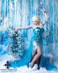 Princess Nightmare as Elsa of Arendelle