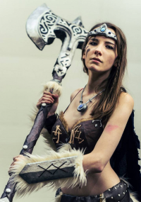 Drawmeacosplay as Dovahkiin