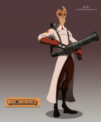 Mordin Solus from Ninjapoupon