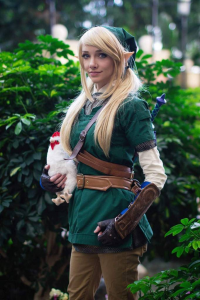 Lyz Brickley as Link