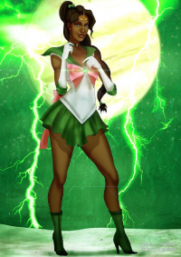 Sailor Jupiter from Isaiah Stephens