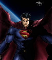 Superman from Michael Walters
