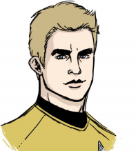 James T. Kirk from Sweet-Nectarine