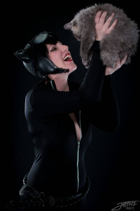 Aly J Cosplay as Catwoman