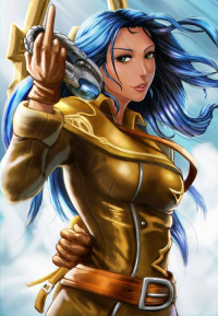 Irelia from Carlos-Eduardo Berganza