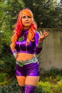Duo Queue Cosplay as Starfire