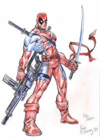 Deadpool from Huy Truong